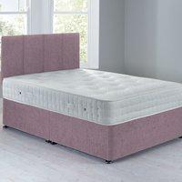 image-Sarasota Platform Top Divan Set - 0 Drawer Chenille Lavender Purple