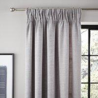 Vermont Dove Grey Pencil Pleat Curtains Grey
