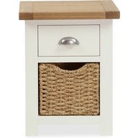 image-Wilby Cream 2 Drawer Bedside Table Cream (Natural)