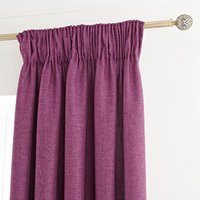 Vermont Berry Pencil Pleat Curtains Berry Red