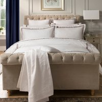 image-Dorma Maddison 100% Cotton Natural Duvet Cover Natural