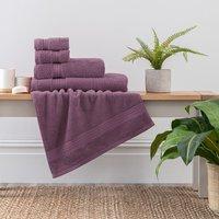 image-Lavender Egyptian Cotton Towel Lavender (Purple)