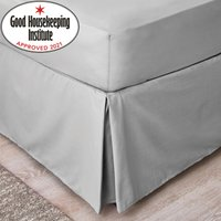 Non Iron Plain Dye Slate Grey Valance Slate (Grey)