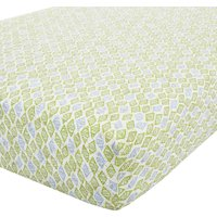 Roar! Dinosaur Fitted Sheet Yellow and Blue