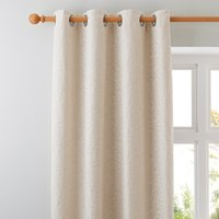 Willow Ivory Eyelet Curtains Pearl (Ivory)