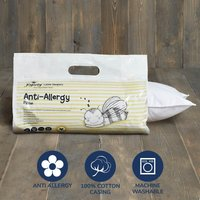 image-Fogarty Little Sleepers Anti Allergy Cot Bed Pillow White