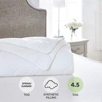 Dorma Sumptuous Down Like 4.5 Tog Duvet White