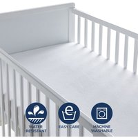 image-Fogarty Little Sleepers Terry Waterproof Mattress Protector White