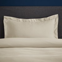 Fogarty Soft Touch Natural Oxford Pillowcase Natural