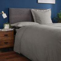 Fogarty Soft Touch Flat Sheet Slate Grey