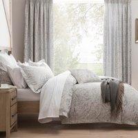 Dorma Winchester Jacquard Grey Duvet Cover Grey