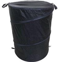 image-Essentials Pop Up Laundry Basket Black