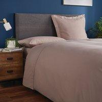 Fogarty Soft Touch Flat Sheet Mink (Brown)