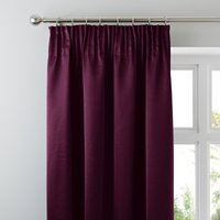 5A Fifth Avenue Venice Plum Blackout Pencil Pleat Curtains Plum Purple
