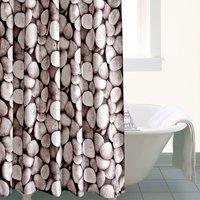 Pebbles Shower Curtain Grey