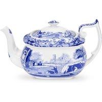 Spode Blue Italian Teapot Blue