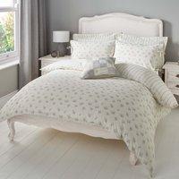 image-Mia Grey Reversible Duvet Cover and Pillowcase Set Grey