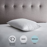 image-Fogarty Duck Down Pillow White