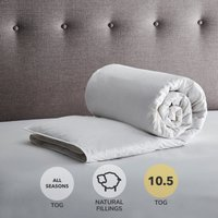 Fogarty Duck Down 10.5 Tog Duvet White