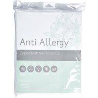 image-Freshnights Anti Allergy 35cm Deep Zipped Mattress Protector White