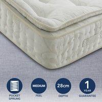 Signature Medium Pillow Top 2000 Pocket Mattress Natural