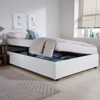 image-Seattle Ottoman Storage White Bedstead White