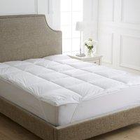 Dorma full forever anti allergy mattress topper white