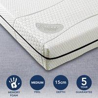 image-Matrah Memory Foam Mattress White