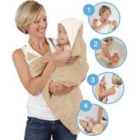 Bamboo Baby White Apron Towel White