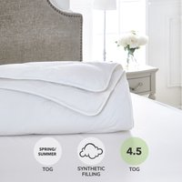 Dorma Full Forever Anti Allergy 4.5 Tog Duvet White
