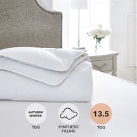 Dorma Full Forever Anti Allergy 13.5 Tog Duvet White