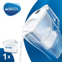 BRITA Aluna Fridge Water Filter Jug - White White