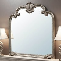 image-Palazzo 116x194cm Over Mantle Mirror Silver