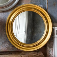image-Trevose Gold 84cm Wall Mirror Gold