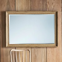 image-Fraser Oak 74x104cm Wall Mirror Natural