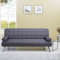 Tobi Fabric Sofa Bed Grey