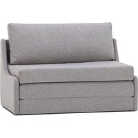 image-Dosie Fabric Sofa Bed Grey