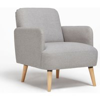 image-Ladybird Fabric Armchair Grey