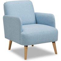 image-Ladybird Fabric Armchair Blue