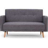 image-Milla 2 Seater Sofa Black