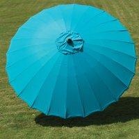image-Norfolk Leisure Geisha Aqua 2.7m Parasol Blue