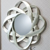 image-Constellation Silver Wall Mirror Silver