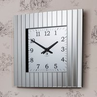 image-Memphis Wall Clock Clear