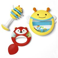 Skip Hop Musical Instrument Set Red/Blue/Yellow