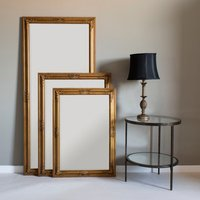 image-Churchill Gold 104x74cm Wall Mirror Gold