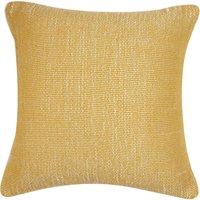 image-Velvet Juno Cushion Cover Ochre Yellow