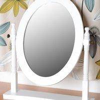 Contessa White Dressing Table Mirror White