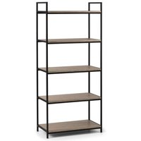 image-Tribeca Tall Bookcase Black/Natural