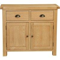 image-Sherbourne Oak Small Sideboard Natural
