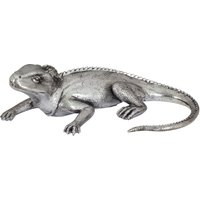 image-Silver Iguana Ornament Chrome
